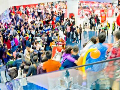 Noël est devenue une fête commerciale à l'américaine.