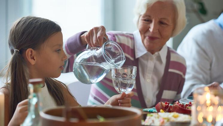 Comment répartir la consommation d'eau sur la journée ?