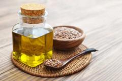 L'huile de lin, riche en omega 3