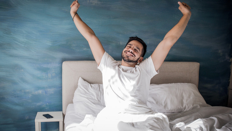Au terme d'un jeûne de 7 jours, les sujets sans surpoids notent une amélioration de la qualité de leur sommeil.