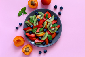 Une assiette colorée pour limiter les troubles de mémoire