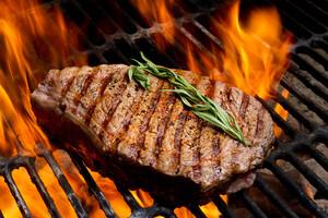 Barbecue doit rimer avec braise et non avec flammes.