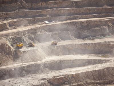 La mine de Chuquicamata au Chili est la plus grande mine de cuivre à ciel ouvert.