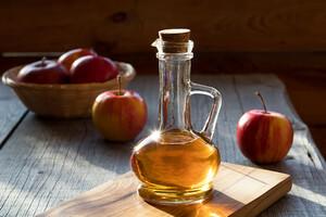Le vinaigre de cidre est très riche en antioxydants.