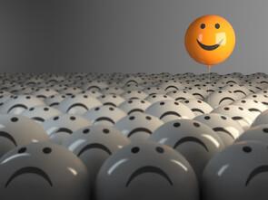 Les pensées positives consolident largement le mieux-être des personnes en souffrance.