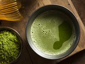 Le thé vert matcha, un concentré d'antioxydants
