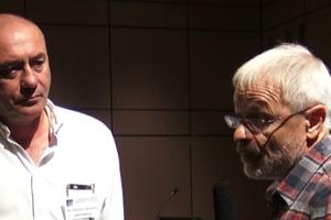 Docteurs Reliquet et De Lorgeril au congrès Aimsib 2018 (crédit photo D. Donnier)