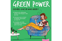 Mon cahier green power, Adeline Gadenne et Françoise Couic-Marinier