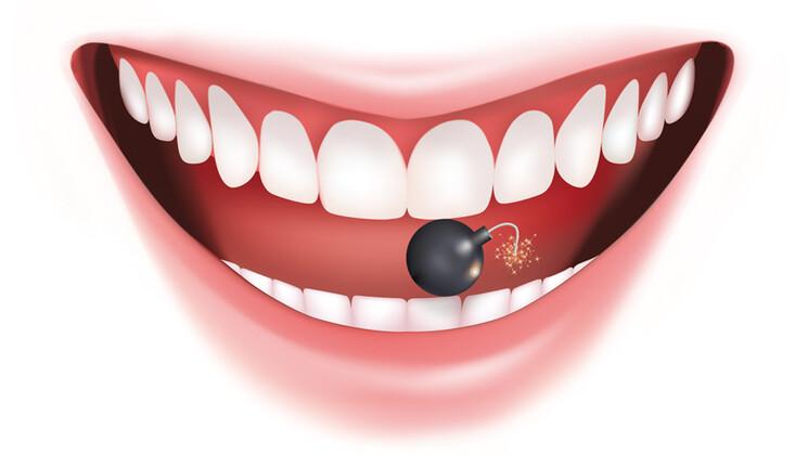 On ne suspecte pas la dangerosité de la plaque dentaire