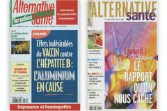Alternative Santé alertait sur les dangers de l'aluminium dés 2001