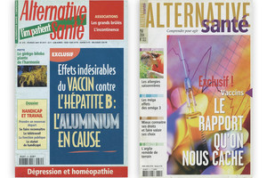 Alternative Santé alertait sur les dangers de l'aluminium dés 2001