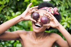 Le fruit de la passion est riche en flavonoïdes protecteurs pour les yeux.