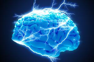 La stimulation transcrânienne rééquilibre l'activité électrique des neurones.