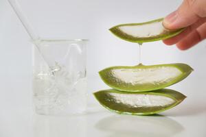 Le gel d'aloe vera, apaisant et anti-inflammatoire