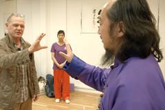 Exercices anti-stress avec Maître Liu Shui bin