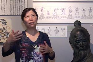 Pr Li Jie directrice de l'Institut de recherche sur le Qi Gong