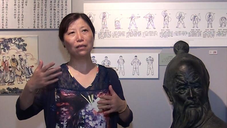 Pr Li Jie directrice de l'Institut de recherche sur le Qi Gong - Alternative Santé