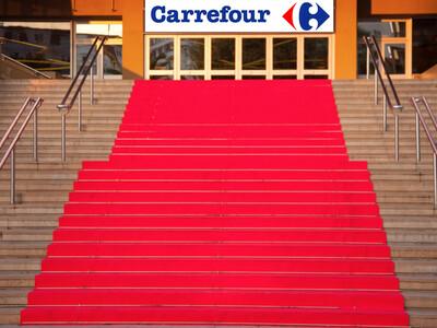 On déroule le tapis rouge pour le consommateur