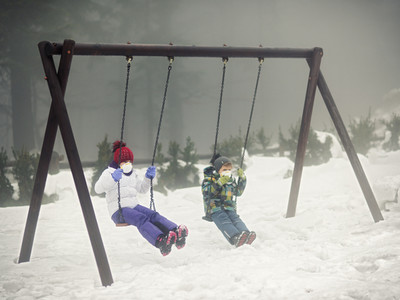 Enfants exposés à la pollution