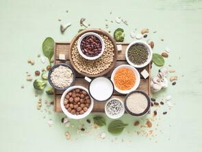 Les protéines végétales, une option santé.