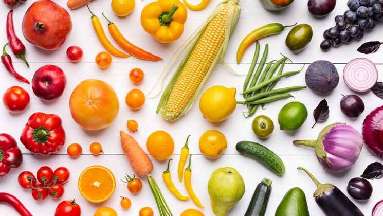 La couleur des aliments, signe de la richesse antioxydante