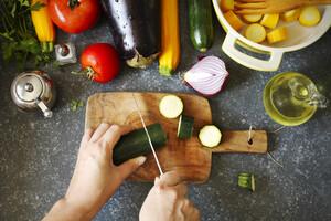 Le régime méditerranéen, riche en légumes et bon lipides
