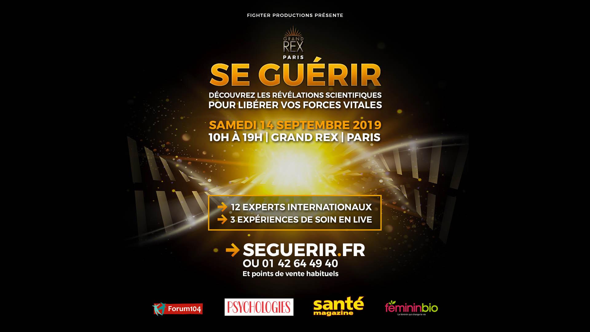 Le RDV Santé incontournable de la rentrée au Grand Rex de Paris (14 septembre)