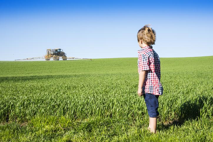 Pesticides organophosphorés : bébés en danger !